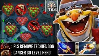 2000 IQ Divine Rapier Techies 30 Level Full Bomb 2 Hours Def Enemy Can't Push Imba Hero 7.23 Dota 2