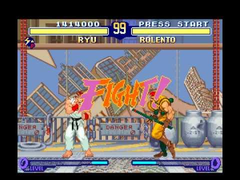 SNES Longplay [432] Street Fighter Zero 2