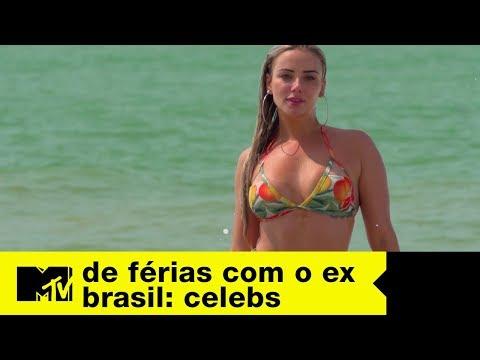 A chegada de Marcelle, ex de Lipe | De Férias com o Ex Brasil Celebs Ep. 03