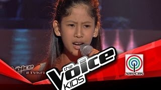 """The Voice Kids Philippines Blind Audition """"Lipad ng Pangarap"""" by Hannah Mae"""