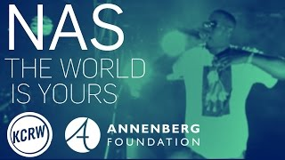 """Nas - """"The World is Yours"""" Live in KCRW VR"""