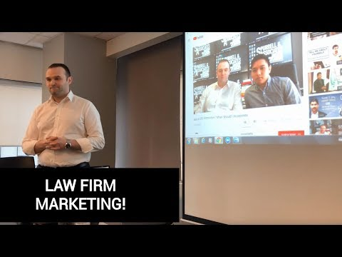 Law Firm Marketing Part 4 of 7