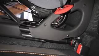 Крепления для рыболовного кресла на заднем сиденье isofix