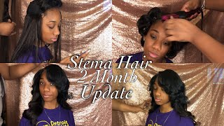 Glueless Quick Weave Tutorial No Leave Out   Stema Hair