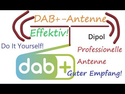 DAB+ Antenne selber bauen (sehr guter Empfang/Effektiv)