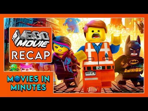 THE LEGO MOVIE in 4 minutes (Movie Recap)