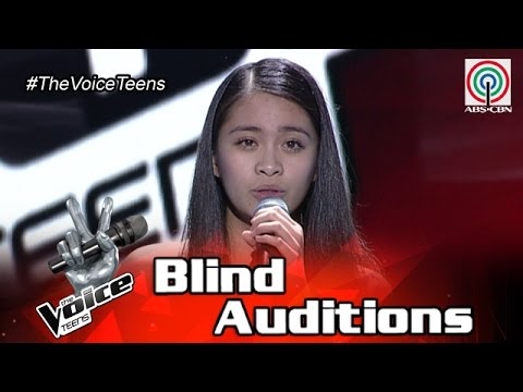 Sophia Ramos is a 15 yo that has been my student since she was 7 years old Blind Audition The Voice Teens Philippines