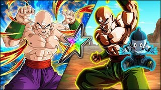 THE BEST WT LR! 100% RAINBOW STAR LR TIEN  CHIAOTZU SHOWCASE! (DBZ: Dokkan Battle)