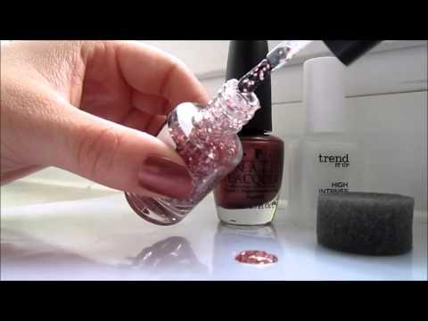 Nail tutorial #1 - glitzernde Nagelspitzen