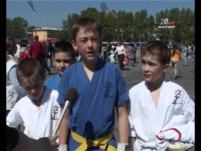 Всероссийскую спортивную акцию поддержали ангарчане