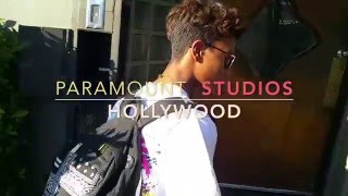 Studio Life with Dj Kiss (kid rapper) & Avedon @ Paramount Recording Studios
