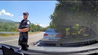 Хитрая полиция Черногории!  Как меня оштрафовали за превышение скорости более чем на 50 км/ч