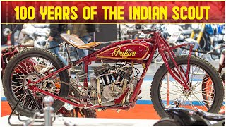 100 Years of the Indian Scout @ Motorcycle Live 2019 |