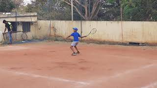 Tennis training forehand of key skills & styles_PK_Pavan Kumar G
