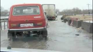 паводок Елань. Волгоградской области 10. 04. 2012.