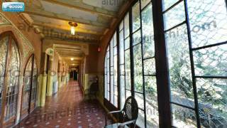 preview picture of video 'visita virtual Reus: Institut Pere Mata - corredor 1 planta'