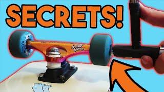9 SKATE SETUP SECRETS!