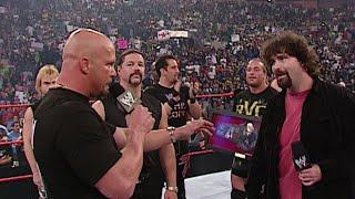 Randy Orton attacks Mick Foley: Raw, June 23, 2003