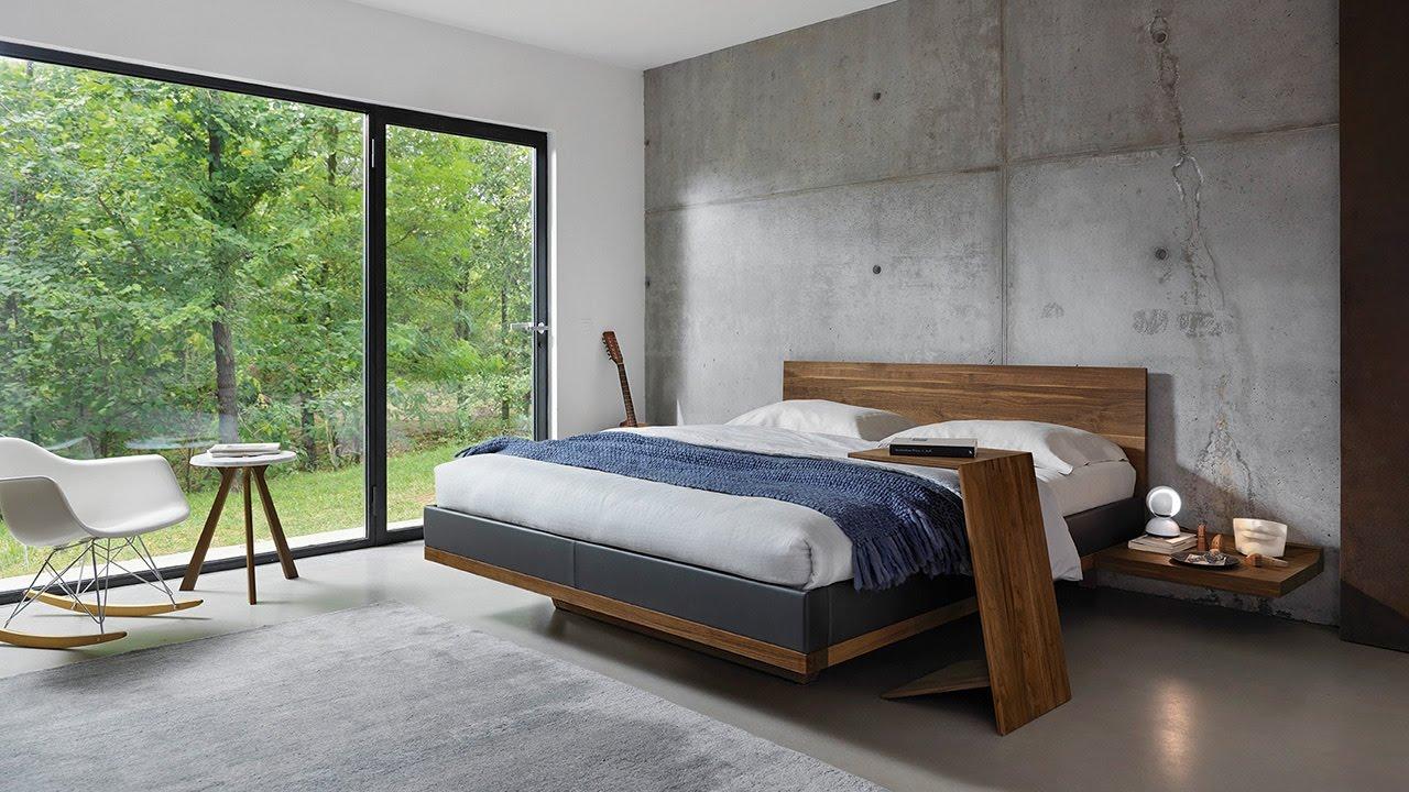 Nussbaum Bett ist nett stil für ihr haus design ideen