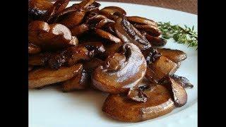 Pieczarki pieczeniowe w sosie sojowym dodatek do mięs Doskonałe