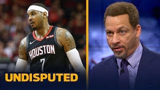 Chris Broussard says the Lakers shouldn't sign Carmelo Anthony | NBA | UNDISPUTED