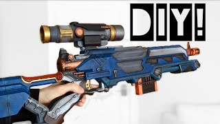 DIY Nerf Integration! [longstrike-Thermal Hunter] Custom Mod Buzzbee