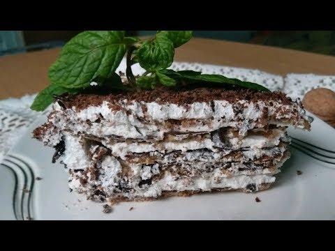 Итальянский ореховый торт  Практически без муки /Italian nut cake