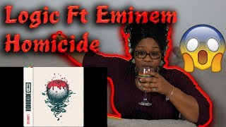 Mom reacts to Logic - Homicide (feat. Eminem) (Official Audio)