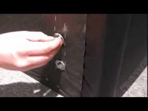 Montageanleitung für das Maintal Polsterbett Joey