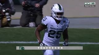Highlights: Michigan State Spring Game
