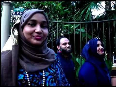 মৌলভীবাজারে দর্শনার্থীরা সীমিত আকারে স্বাস্থ্যবিধি মেনে শুধু চা বাগানে ঘুরে বেড়াচ্ছেন