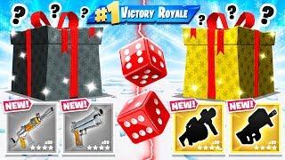 RANDOM Present DICE CHOOSER *NEW* Game Mode in Fortnite Battle Royale