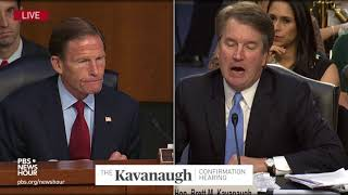 Kavanaugh avoids wading into Trump's tweeted attacks on judges