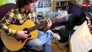 Walking Blues Guitar Tutorial (Eric Clapton's Unplugged)  *older video*