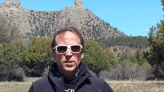 Chimney Rock, Southern Colorado Skies Blasted w/ Chemtrails or Contrails & Radiation, Levels 4/5/17