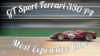 GT Sport Ferrari 330 P4 Gameplay! Absolutely Gorgeous!