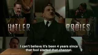 Hitler is informed it's Hitler Rants Parodies 4th anniversary