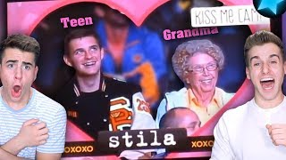 Most Awkward Kiss Cam Moments