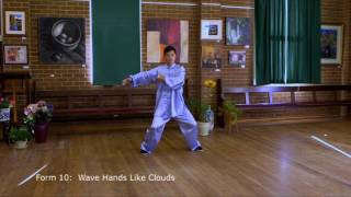 Tai Chi 24 Form Slow Motion with Instructions