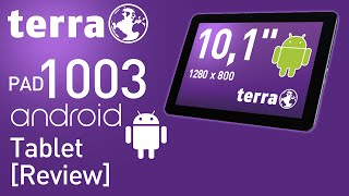TERRA PAD 1003 Tablet Review! (Android)