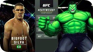 UFC 2 БОЙ Антонио Сильва vs Халк (com.vs com.)