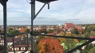 Wideo1: Panorama z wieży ciśnień w Górze