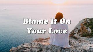 Charli XCX   Blame It On Your Love Ft. Lizzo (Lyrics Video)