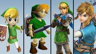 Evolution Of The Legend Of Zelda   1986   2019