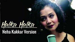 Halka Halka Unplugged Lyrics - YouTube