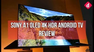 Sony BRAVIA A1 OLED 4K HDR Android TV Review | Digit.in