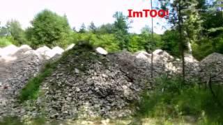 preview picture of video 'Nurzec - tyle zostało z magazynów amunicji w dawnej Składnicy Wojskowej'