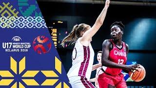 Latvia v Canada - Full Game - FIBA U17 Women's Basketball World Cup 2018 | Kholo.pk