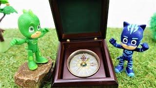 Герои в масках и Детский канал! Игрушки Герои в Масках #Кэтбой и #Гекко заблудились в лесу! 🌳 🌳 🌳