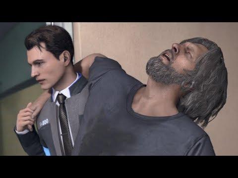 Detroit Become Human / Смешные Моменты (Коннор и Хэнк)
